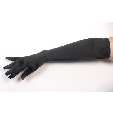 Elbow Length Gloves- Black