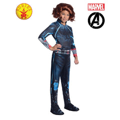 Black Widow Avengers Girls Costume