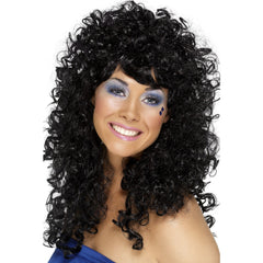 Boogie Babe Black Wig
