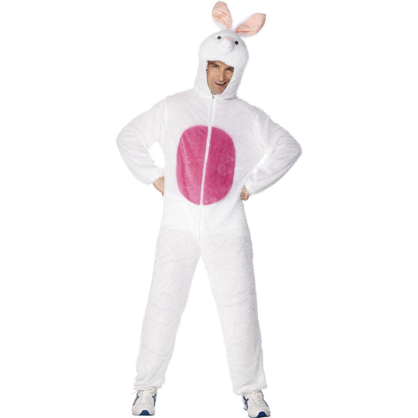 Bunny Jumpsuit with Attached Hood