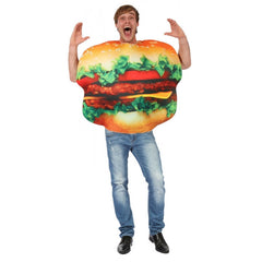 Burger Man Costume