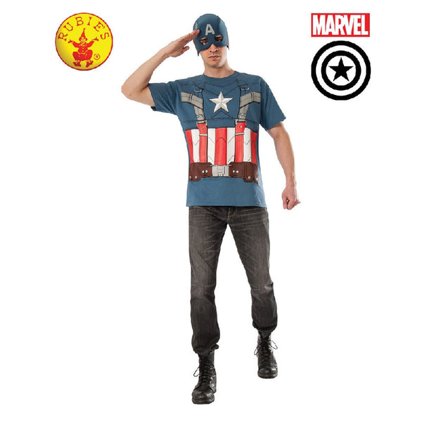 Captain America Shirt and Mask