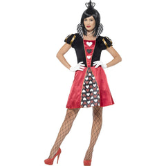 Carded Queen of Hearts Ladies Costume