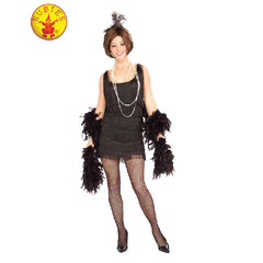 Chicago Flapper Costume in Black