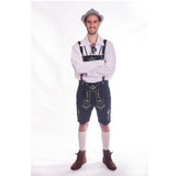 Black Leather Lederhosen - Wolfgang
