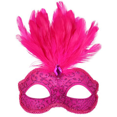 Daniella Feather Mask