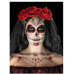 Day of the Dead Face Tattoo Kit