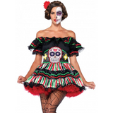 Day of the Dead Dress - Hire