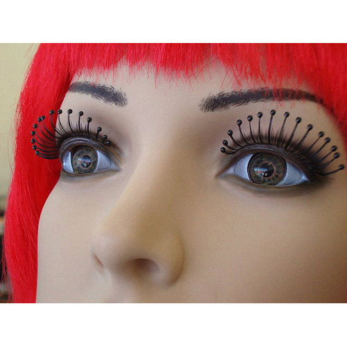 Eyelashes-Black with Black Droplets