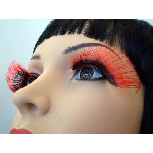 X Large Red and Black Lashes