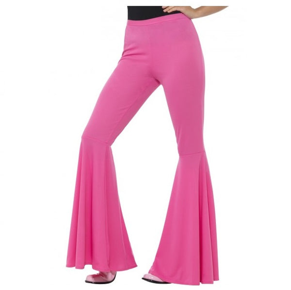 Flared Trousers Pink - Ladies