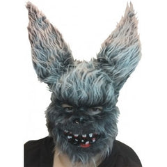 Furry Rabbit Mask w/Bloody Teeth