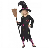 Cinder Witch Costume - Girls
