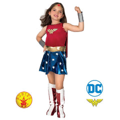 Girls Wonder Woman Deluxe Costume