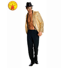 Gold Sequin Jacket - Mens