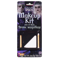 Grease Paint Makeup Kit Black and White