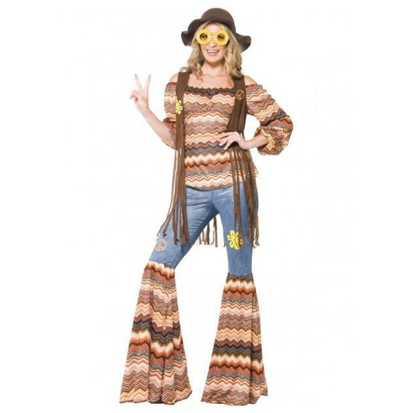 Harmony Hippie Costume - Ladies