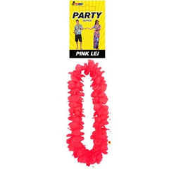 Hawaiian Flower Lei Pink & Yellow