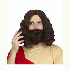 Holyman Wig and Beard Set