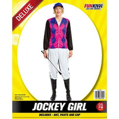 Jockey Girl Costume