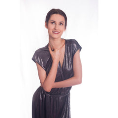 Silver Disco Jumpsuit - Hire