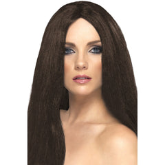 Star Style Wig (Brown)