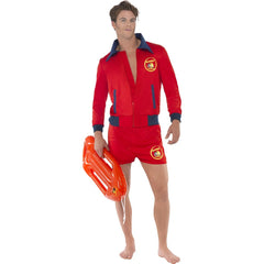 Baywatch Lifeguard Costume with Short Shorts and Jacket