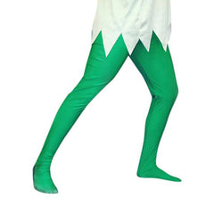 Mens Green Lycra Tights