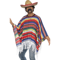 Mexican Poncho-Woven
