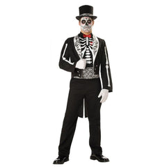 Mexican Day of the Dead Graveyard Groom - Hire
