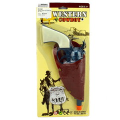 Western Cowboy Holster and Gun