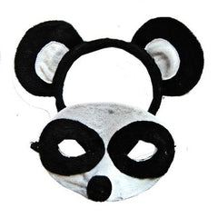 Panda Headband & Mask Set