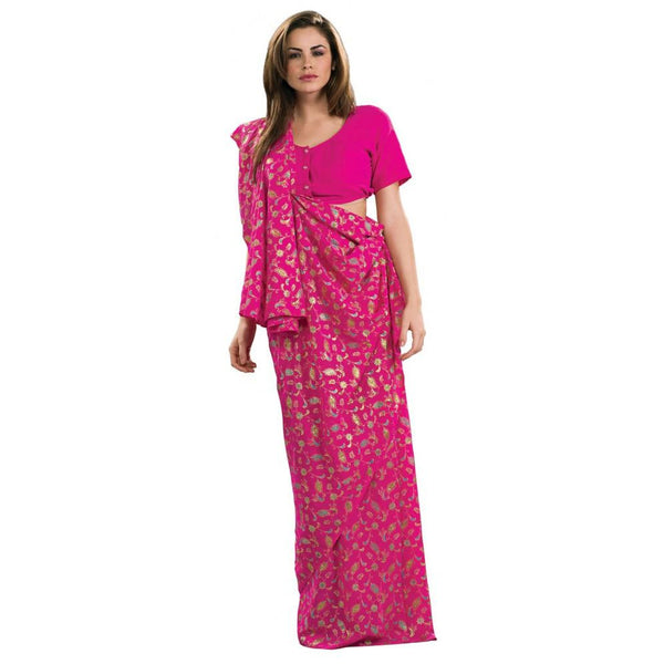 Pink Bollywood Sari Costume - Hire