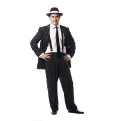 Gangster Suit Pinstripe - Hire