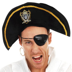 Pirate Hat with Badge