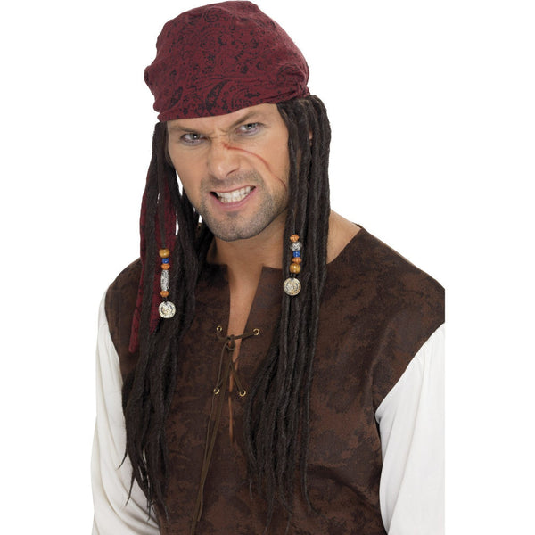 Pirate Wig and Scarf