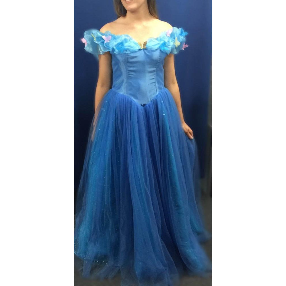 Princess Ball Gown Costume - Hire – Cracker Jack Costumes Brisbane