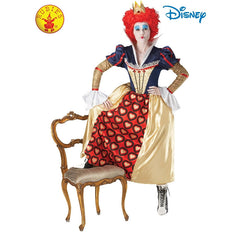Queen of Hearts Deluxe Costume - Adults