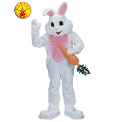 Rabbit Premium Mascot Costume White - Hire