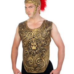 Roman Chest Plate Latex-Gold