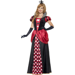 Royal Red Queen Ladies Long Costume