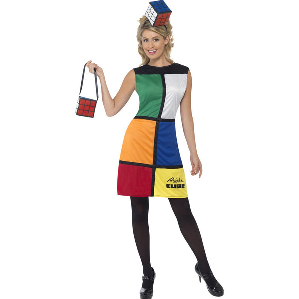Rubiks Cube Costume with Headband