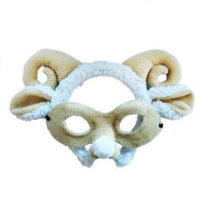 Ram/Sheep Headband & Mask Set