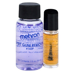 Mehron Spirit Gum 4ml with Spirit Gum Remover 30ml
