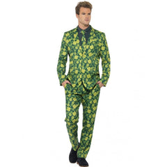 St Patrick's Day Shamrock Suit Costume - Hire