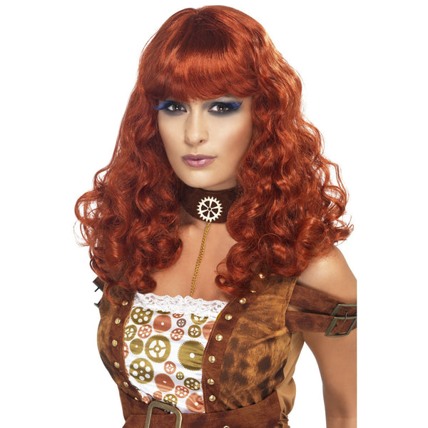 Steam Punk Wig - Auburn