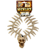 Stone Age Style Necklace - Skulls and Teeth