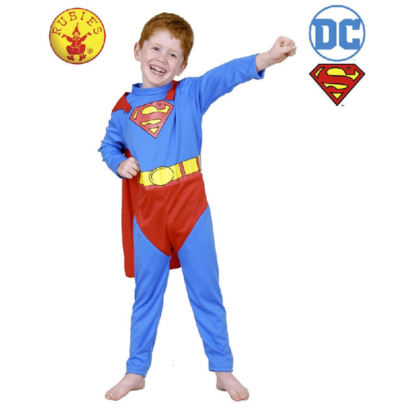 Superman Classic Boys Fancy Dress Costume
