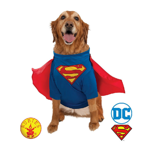 Superman Deluxe Pet Costume - Large