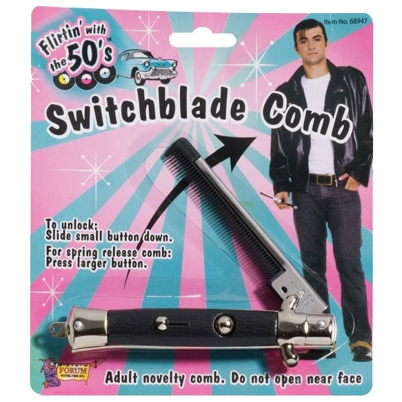 50s Switch Blade Comb